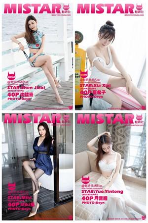 [MiStar魅妍社] VOL.301-326 官方套图合集 [26套]